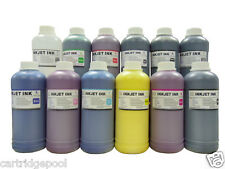 12 Pint pigment refill ink for HP70 HP73 designjet Z3200 Wide-format Printer