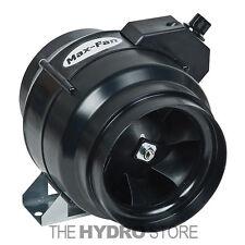 """Can Fan Max Fan 6"""" w/ Speed Control 334 CFM -inline exhaust blower ventilation"""