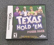 Texas Hold 'em Poker Pack (Nintendo DS, 2005)