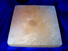 APO008 Genuine Pink Himalayan Rock Salt LG Salt Cooking Brick/Block/Plate 20cm