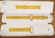 GENUINE APPLE WATCH SPORT BAND STRAP MM992ZM/A 42mm /44mm 2016 Rare YELLOW