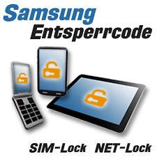 Samsung Smartphone / Tablet - SIM-Lock freischalten - Entsperrcode