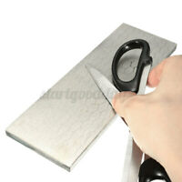 8'' 400/1000# Double Sided Diamond Grit Kitchen Sharpening Stone Whetstone ! U!