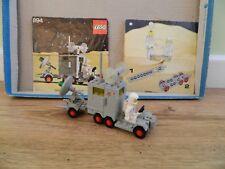 Lego Space – 894 Mobile Ground Tracking Station – Instructions  Vintage Set 1979