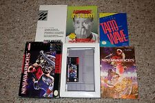 Ninja Warriors (Super Nintendo Entertainment System SNES, 1994) Complete GOOD CC