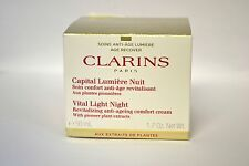Clarins Capital Lumiere Nuit Vital Night Cream for All Skin Types 1.7 oz BOXED