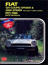 Fiat 124 Coupe/Spider & 2000 includes Turbo, Ltd-.