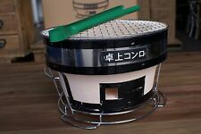 NEW JAPANESE / KOREAN CERAMIC HIBACHI BBQ BARBEQUE TABLE GRILL - ROUND