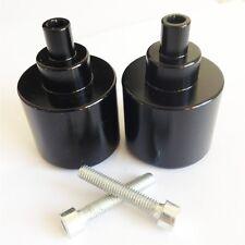 For Honda CBR600 VFR800 CB919 900RR 929RR 954RR VTR RC51 GL1800 Black Bar ends
