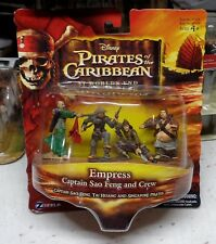 PIRATES OF THE CARIBBEAN CAPTAIN SAO FENG and CREW  4 Pc. Mini Figures