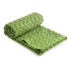 Non Slip Yoga Towel Microfibre Pilates Blanket Travel Bag Yoga Mat Exercise Mat