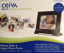 "8"" Ceiva Digital Photo Frame With Sd Card Slot Wi-Fi And Broadband Ready"