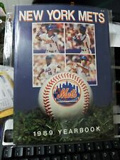 1989 New York Mets Regular & Revised Ed. Yearbook , Gooden, Strawberry Near Mint
