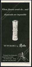 1957 Revlon Futurama lipstick case photo vintage print ad