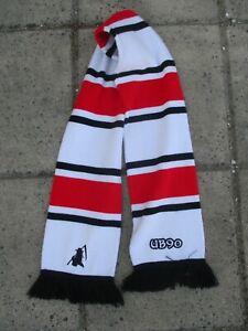 Echarpe ULTRAS BRESTOIS UB90 Brest double face sciarpa scarf style rétro bandes