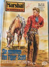 Marshal Western Volume 410: ils ont appelé le tigre-Scott de Everett Jones Z: 2-3