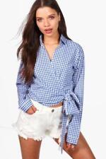 Maglie e camicie da donna Blusa Blu Taglia 42