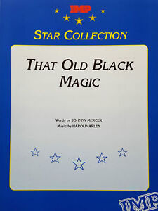 That Old Black Magic Piano Vocal Guitar Sheet Music by Arlen and Mercer