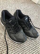 Asics Gel-Nimbus 19 Womens Black Cushioned Running Shoes Trainers Size 4.5UK