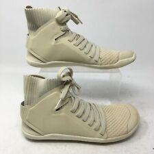 VivoBarefoot Womens 37 Kasana Lace Up Hi Knit Casual Trainer Sneakers Tan