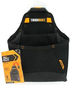 ToughBuilt Supply Tool Pouch Multi Pocket Organizer TB-CT-05 TB-CTP-01005A