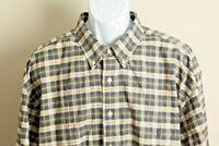 Ralph Lauren Men's blue, green and yellow plaid long sleeve shirt 3XLT Tall 3XL