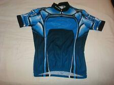 SUGOI Men's Cycling Jersey Medium Blue - EUC