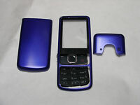 New Full blue Housing Cover Case with Keypad for Nokia 6700C