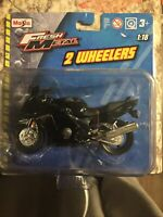 Maisto Fresh Metal 2 Wheelers ~ Honda CBR 600F BLACK 1:18