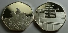 RED RUM RACEHORSE Silver Commemorative. Album/Collectors Grand National