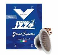 100 Cialde Capsule Caffè Izzo Blu Grand Espresso compatibile Bialetti