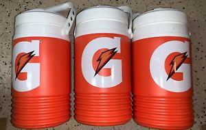 LOT OF 3 Igloo Gatorade 1/2 Half Gallon Water Jug Cooler Bottle NEW