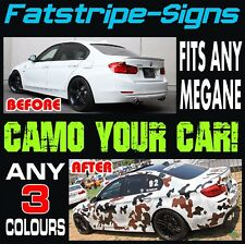 RENAULT MEGANE CAMO GRAPHICS STRIPES STICKERS DECALS TURBO SPORT RS 250 265 275