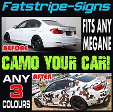 RENAULT Megane Camo grafica Strisce Adesivi Decalcomanie Turbo Sport RS 250 265 275
