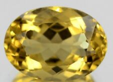 GOLDEN CITRINE 12 x 10 MM OVAL CUT ALL NATURAL