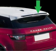 Range Rover Evoque lip spoiler tailgate ROOF Spoiler AERODYNAMIC UK Seller