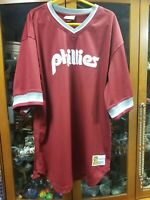 Philadelphia Phillies Jersey Mitchell & Ness Cooperstown Collection XLT