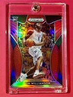 Zion Williamson ROOKIE PANINI PRIZM RARE RED REFRACTOR DRAFT PICKS RC #1 - Mint!