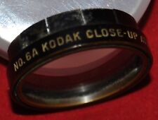 Kodak Close-Up Attachment Filter No.6A 1 1/8in. 28.5mm Diameter