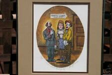 "George Crionas Lithograph ""Now About That Judge"" Signed 10/950 - Excellent"