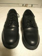 Rocky 7.5 Men's Non-Gloss Polishable Black Leather Oxfords
