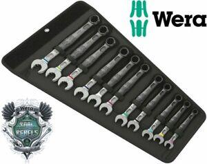 Wera 020231 JOKER 11 Set 1 6003 11pce 8-19mm Metric Ring Combination Spanner Set