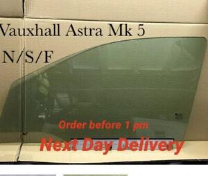 Vauxhall Astra H  Window Glass Front Passenger Side  N/S.  06 - 07  - 08 Reg