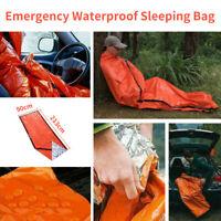 Outdoor Emergency Sleeping Bag Thermal Waterproof Survival Camping Travel BagOut