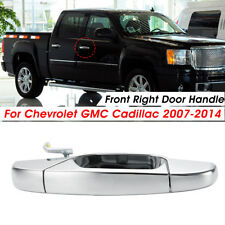 Chrome Front Right Exterior Door Handle For Chevrolet GMC Cadillac 2007-2014