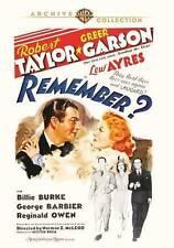 Remember? DVD (1939) - Robert Taylor, Greer Garson, Lew Ayres, Norman Z. McLeod