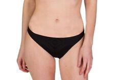 NEW Polo Ralph Lauren Black Crochet Hipster Bikini Swim Bottom M Medium $66