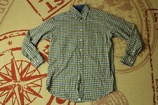 BARBOUR CASUAL TRADITIONAL TWILL MENS SHIRT LONG SLEEVE ORIGINAL SIZE M