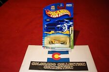 Hot Wheels - Track T - 2003 Flying Aces 2/5 - Coll #076 - 1:64 - Pearl Yellow