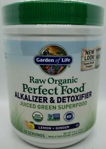Garden of Life Raw Organic Perfect Food Alkalizer & Detoxifier Greens 9.94 oz.